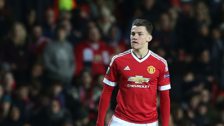 Manchester United's Regan Poole has joined Northampton Town on a season-long loan