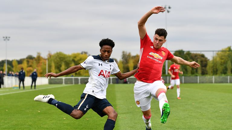 Kyle Walker-Peters could be battling his namesake for a place in the Spurs side this season