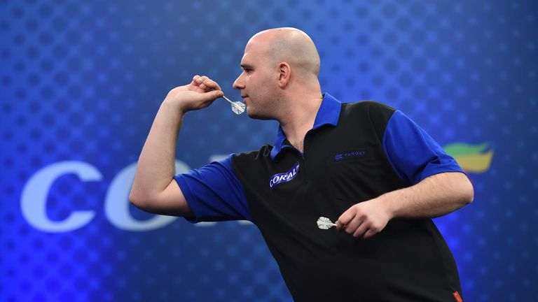 Rob Cross beat Ian White on his way to a second PDC Tour title of 2017