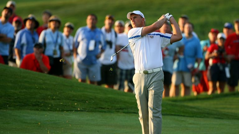 Robert Karlsson played for Europe in the 2008 Ryder Cup defeat at Valhalla