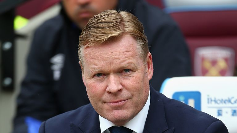 Koeman says he doesn't want players in his squad who don't want to play for the club