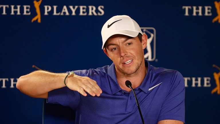 He aggravated the injury at The Players Championship in May