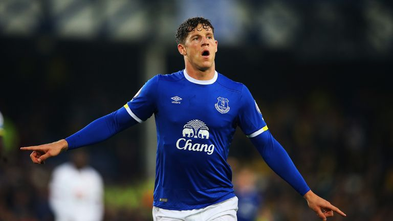 Ross Barkley is a target for Tottenham this summer but Everton want £50m