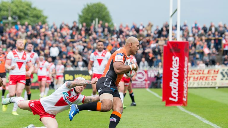 Saints were outclassed by their opponents in a 53-10 defeat, days after another heavy loss against Warrington