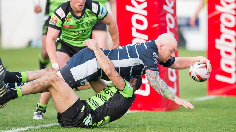 Featherstone were beaten 28-8 by Halifax on Sunday