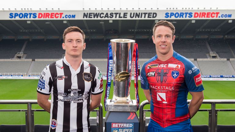 Widnes face Wakefield in the opening game of Magic Weekend