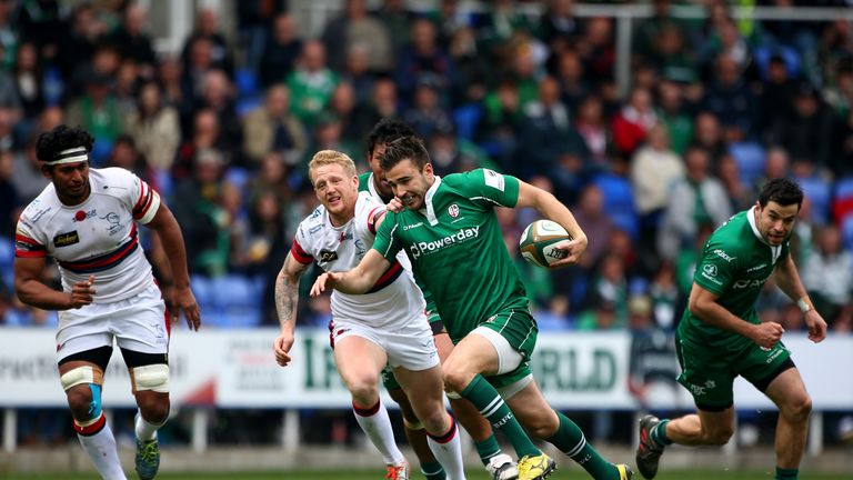 Promoted London Irish face Harlequins at Twickenham in their season opener