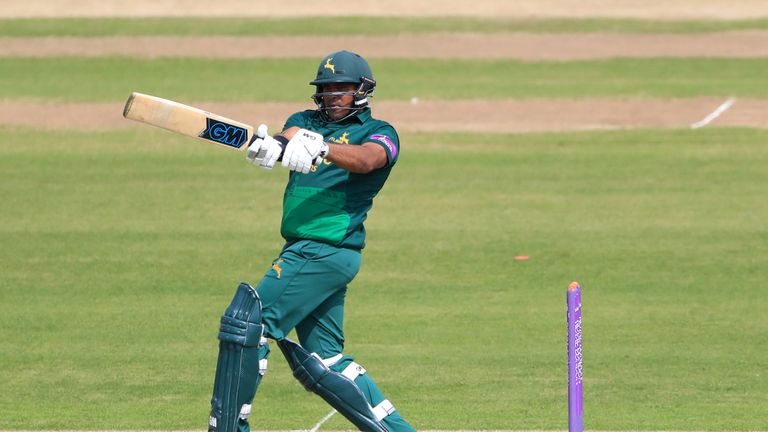 Samit Patel continued his stunning form with another ton for Nottinghamshire