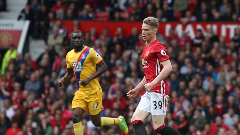 England and Scotland are set to fight over the international future of Manchester United midfielder Scott McTominay