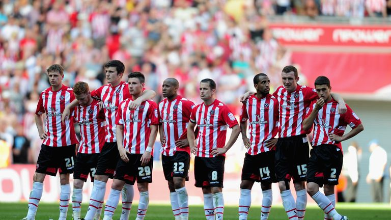 Sheffield United  suffered more play-off heartbreak in 2012