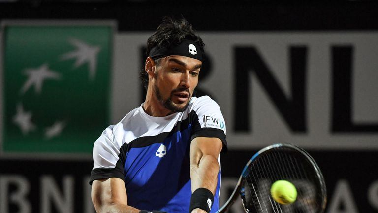Fabio Fognini launched an allegedlysexist tirade at Swedish female umpire Louise Engzell