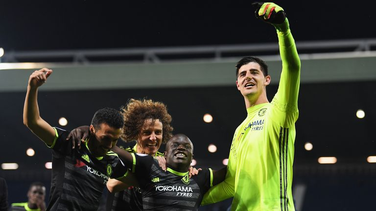 Sing up, Chelsea... Captain Cahill, Batman and Dave won the Premier League
