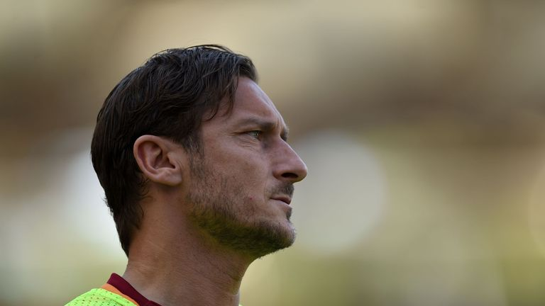 AS Roma great Totti will retire at end of season - Monchi