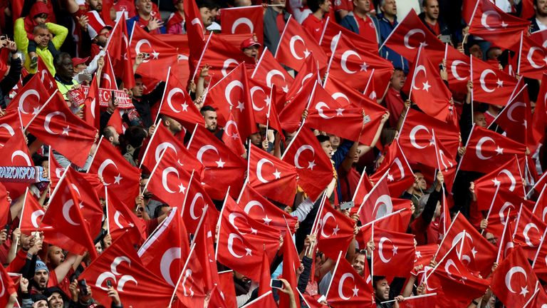 Turkey has also bid to host Euro 2024