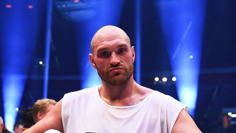 Tyson Fury is hoping to resume his boxing career this year