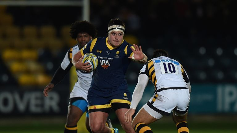 Nick Schonert suffered a significant ankle injury against Wasps