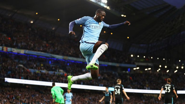 Yaya Toure could be playing his last Man City game on Sunday, live on Sky Sports