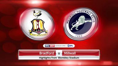 Bradford 0-1 Millwall
