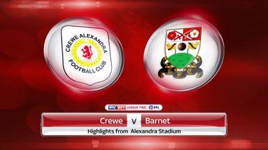 Crewe 4-1 Barnet