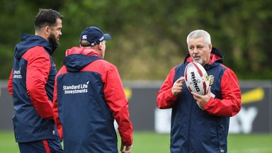 Warren Gatland said he expects six to 10 players to succumb to injury on the Lions tour