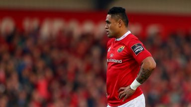 Francis Saili's battle with Jonathan Davies will be a closely-fought affair
