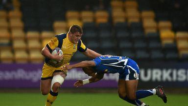 Hooker Jack Singleton in action for Worcester