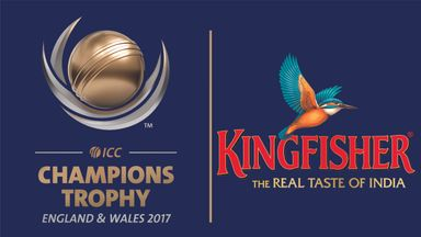 Kingfisher beer are Official Lager Partner for the ICC Champions Trophy 2017