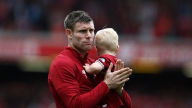 James Milner says Champions League is a 'tep along the way' for Liverpool
