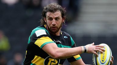 Tom Wood will captain Northampton against Stade Francais