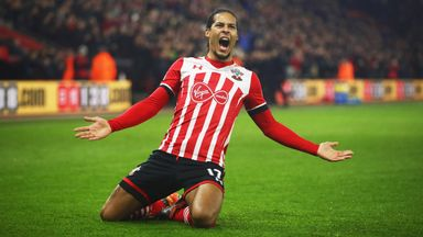 Manchester United have been linked with a move for Virgil van Dijk this summer
