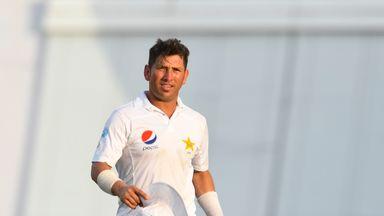 Pakistan spinner Yasir Shah saved Kent with the bat