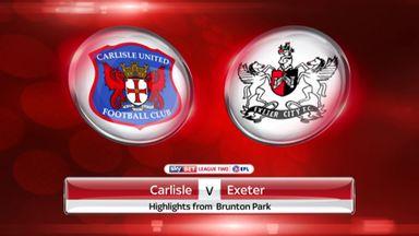 Carlisle 3-3 Exeter