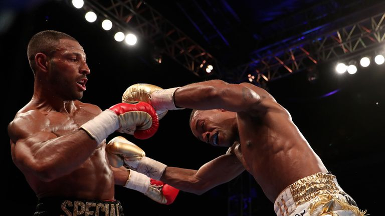 BROOK-SPENCE PROMOTION BRAMALL LANE, SHEFFIELD, PIC;LAWRENCE LUSTIG IBF WORLD WELTERWEIGHT TITLE KELL BROOK V ERROL SPENCE