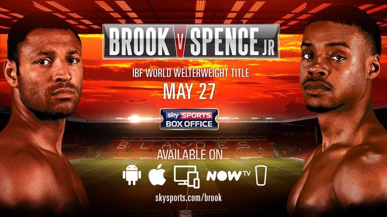 Watch Brook v Spence Jr online