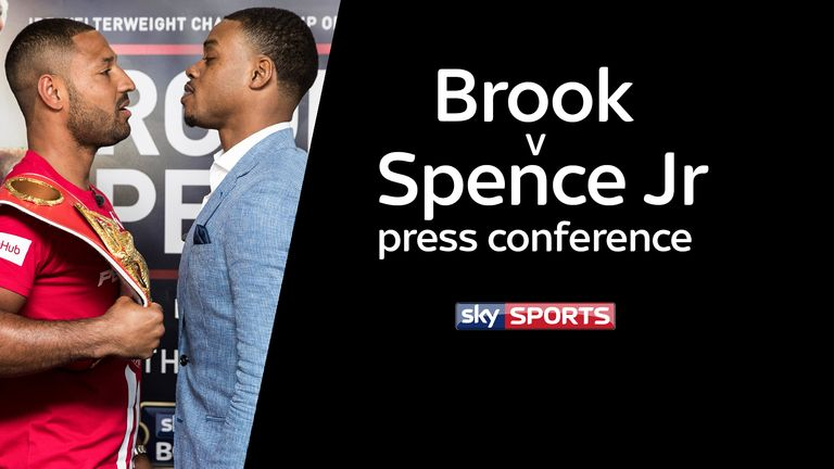 Kell Brook vs Errol Spence Jr press conference