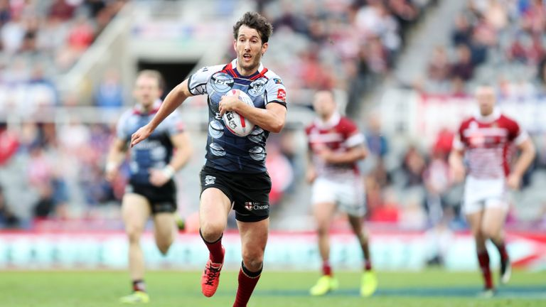 Stefan Ratchford in action at Magic Weekend