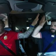Scott Quinnell and Bear are back on the road again