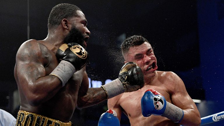 Adrien Broner defeated Adrian Granados in his last outing