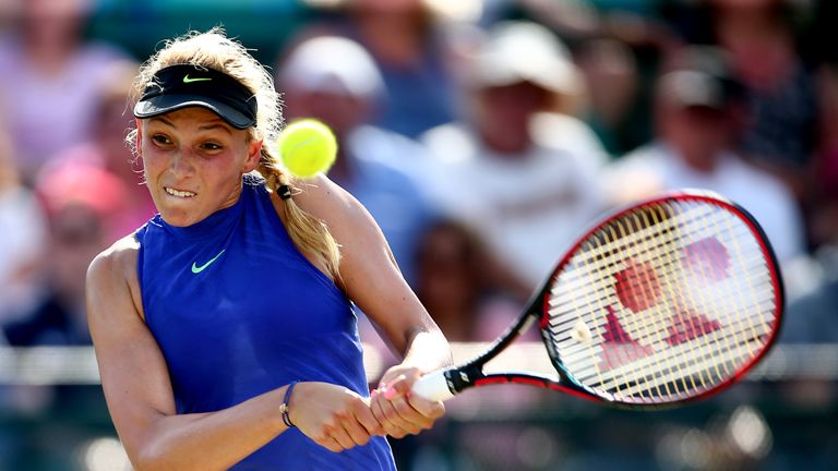 Vekic collected her second career title on the WTA Tour