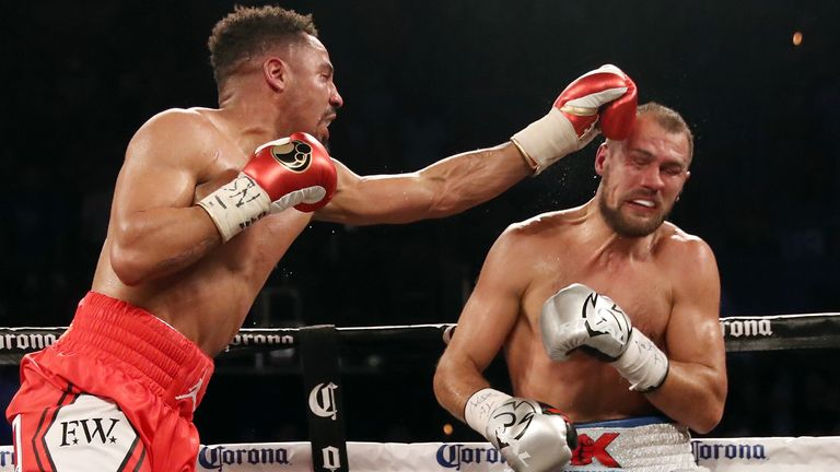 Kovalev twice fell short against Ward