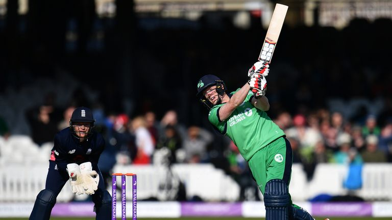 Ireland played an ODI against England at Lord's in May of this year
