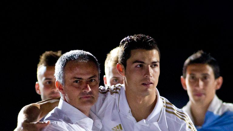 Ronaldo worked with Mourinho at Real Madrid