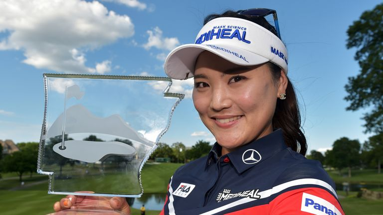 Park shoots 63 to take 2-shot lead at LPGA Tour event