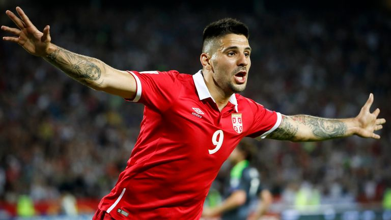 Aleksandar Mitrovic is a key figure for Serbia