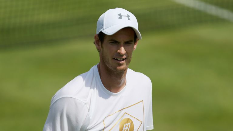 Andy Murray admits grass courts feel more 'natural' to him