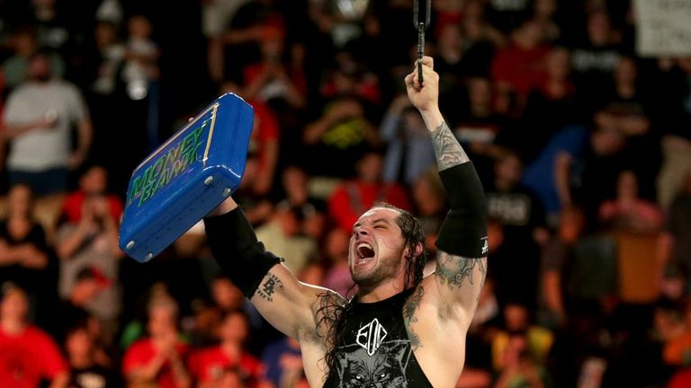 Baron Corbin added to his increasingly impressive CV by becoming 'Mr Money in the Bank'