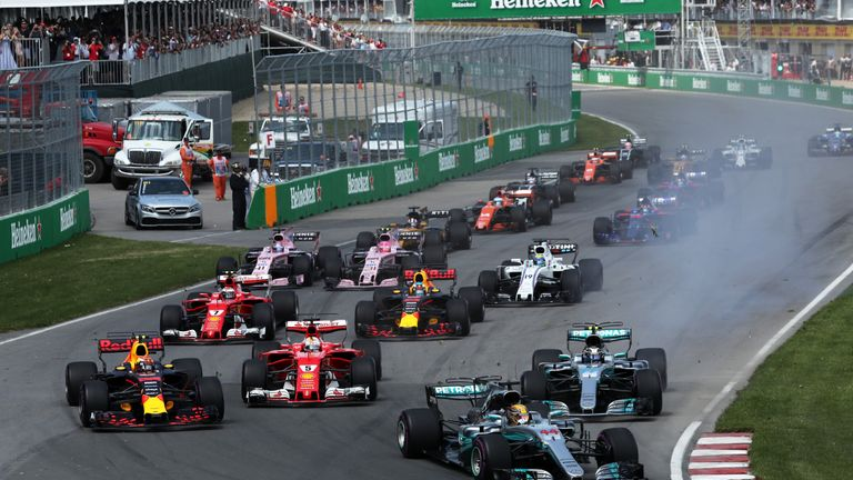 F1 will enjoy a triple-header in 2018!