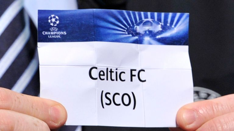 Celtic will find out their second qualifying round opponents on Monday