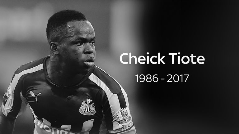 Ex-Premier League star Cheick Tiote dies after collapsing in training