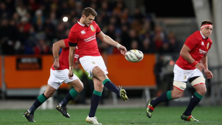 Biggar said the Lions have been doing a lot of work on kicking and competing in the air in training